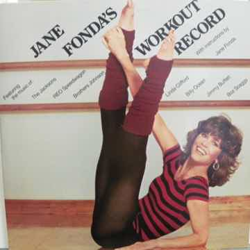 JANE FONDA - WORKOUT RECORD 2 LP'S NM