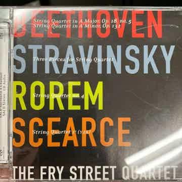 Beethoven, Stravinsky, Rorem - SACD DSD IsoMike