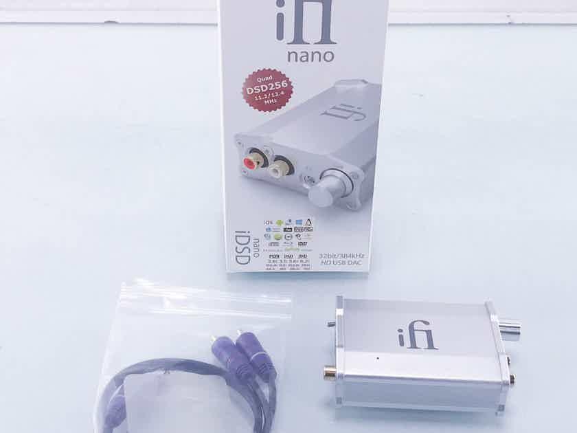 Ifi Nano iDSD USB DAC; Headphone Amplifier(11055)
