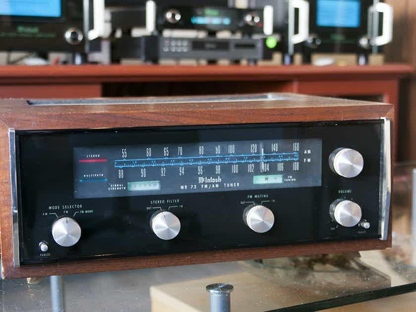 Mcintosh Mr73 Classic Am Fm Tuner Tuners Audiogon