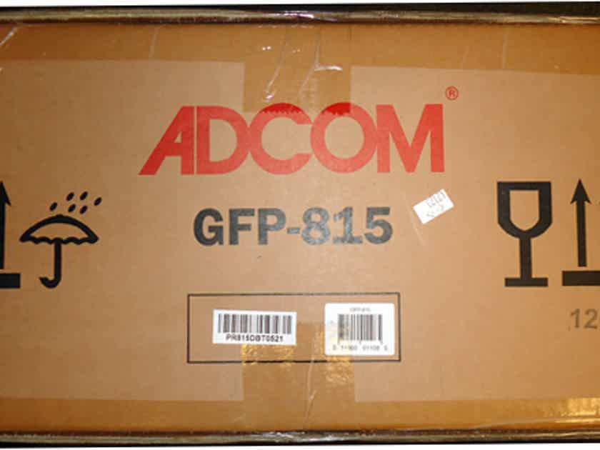 Adcom GFP 815 STEREO PRE AMPLIFIER - NEW IN SHIPPING BOX