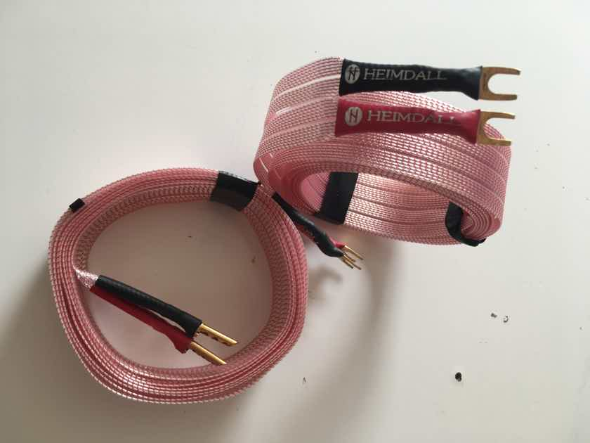 Nordost Heimdall Speaker Cable 8 ft pair