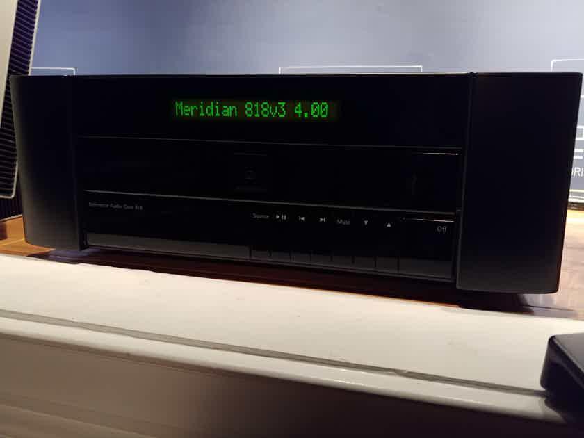 Meridian 818v3  Black