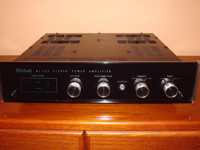 mcintosh mc 502 amplifiers audiogon