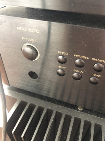 Rotel receiver, CD player, amp, B&W Nautilus 803 speakers