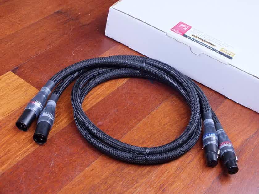 AUDIO REPLAS REF-RU9000SZ-BAL interconnects XLR 1,0 metre BRAND NEW!