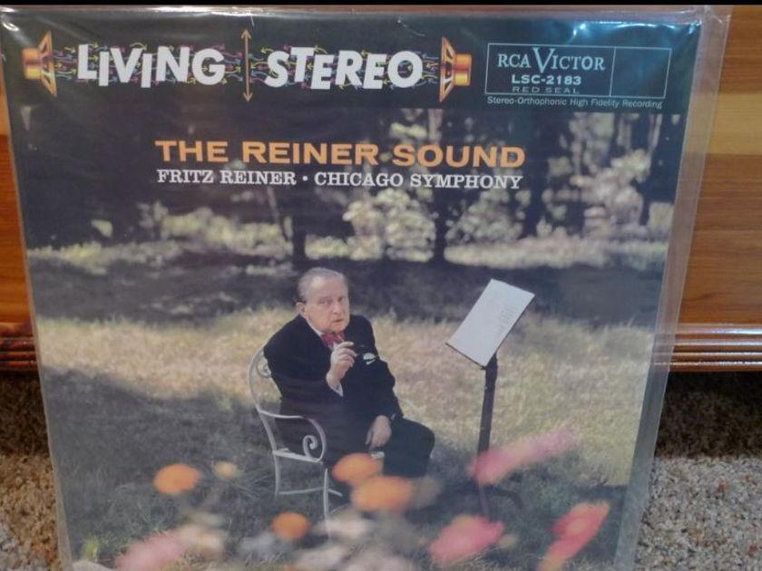Chicago Symphony (Reiner) - The Reiner Sound lsc2183 Classic Records original reissue 180G 1990's Sealed