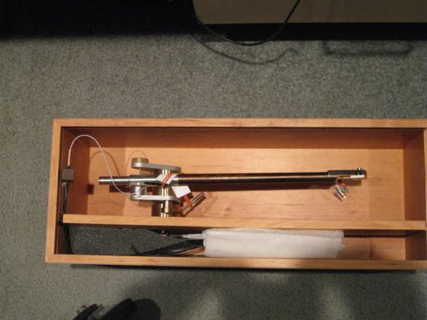 """Schroder Tonearms The Reference SQ 10.5"""" Snakewood"""