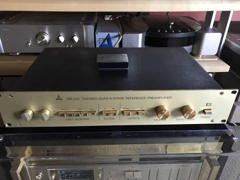 FM Acoustic 240 reference preamp with phono