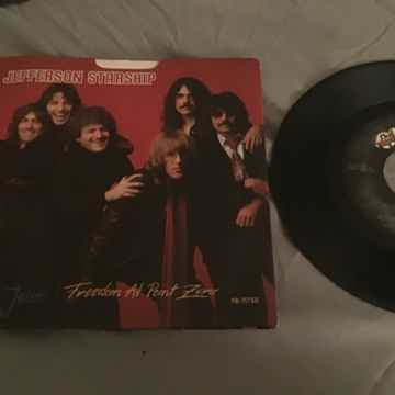 Jefferson Starship 45 With Picture Sleeve Vinyl NM Jane...