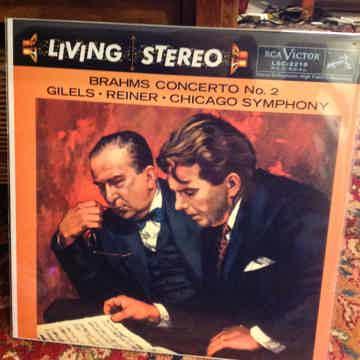 Brahms Concerto No 2 Gilels-Reiner-Chicago Symphony RCA...