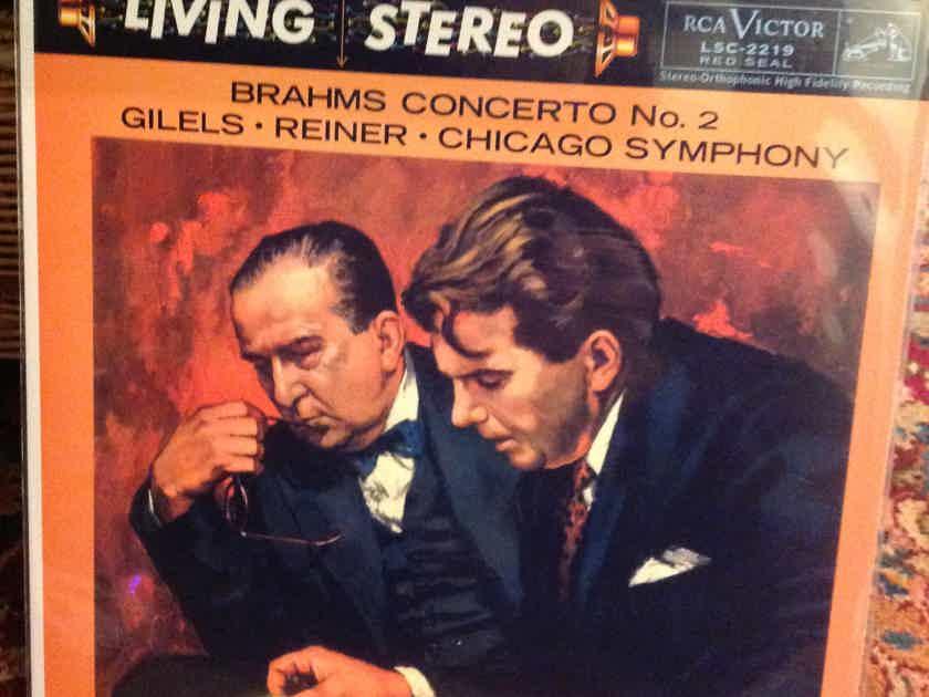 Brahms Concerto No 2 Gilels-Reiner-Chicago Symphony RCA Red Seal New/Sealed