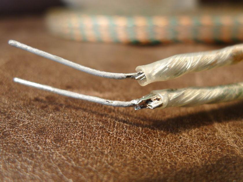Polk Audio (the original) Cobra flat Speaker Cable 25 foot pair. NOS
