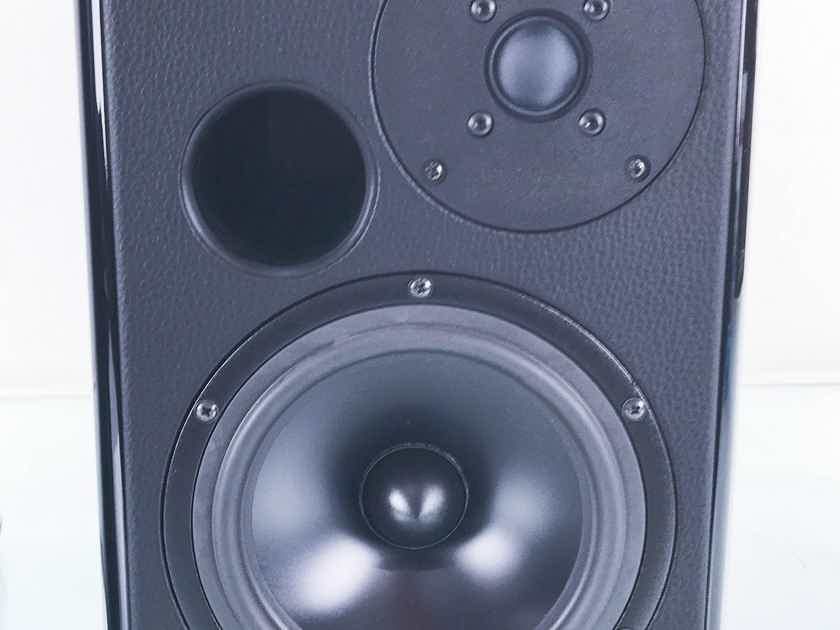 Opera Prima Bookshelf Speakers Piano Black Pair (12736)