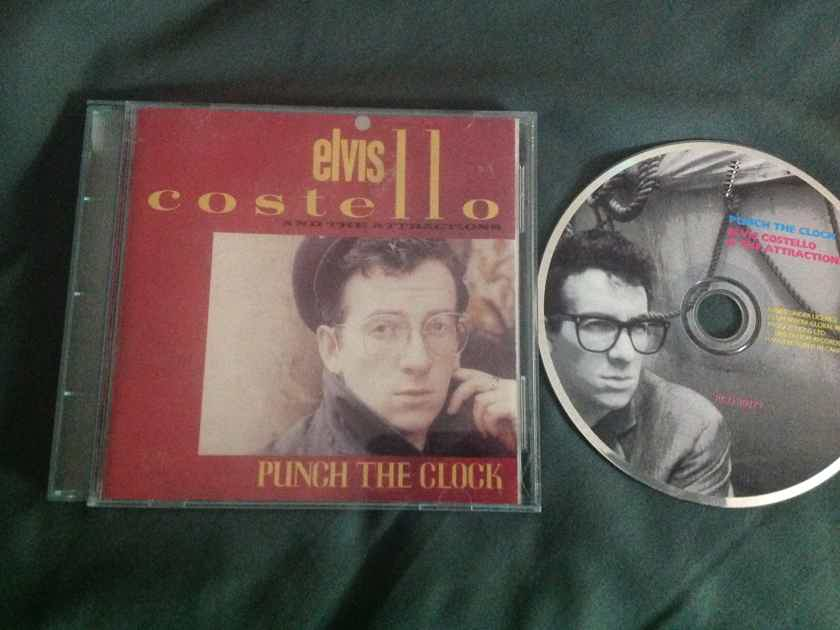 Elvis Costello And The Attractions - Punch The Clock Ryko Compact Disc With  Bonus Tracks