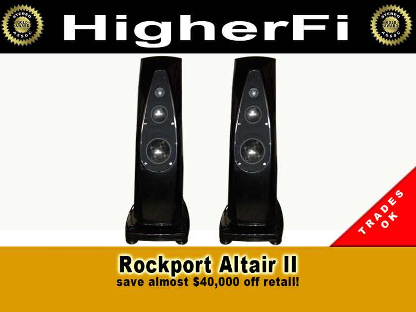 Rockport Technologies Altair 2 Trades OK, worldwide shipping
