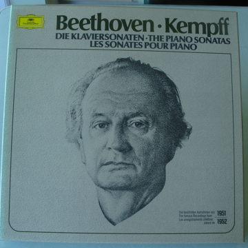Beethoven - Kempff The Piano Sonatas (10LPs)