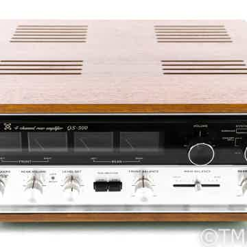 Sansui QS-500 Vintage 4 Channel Rear Amplifier