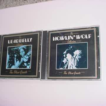 BLUES GREATS 2 CD'S Howling Wolf and Leadbelly collection DEJA VU