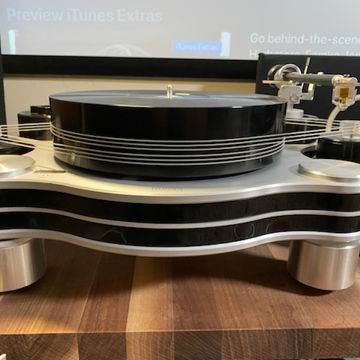 Hauss T-30 Turntable - 2 Arm-boards plus EXTRAS