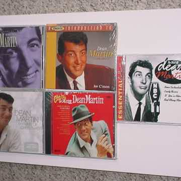 DEAN MARTIN CD Lot of 5 cd's 4 are sealed