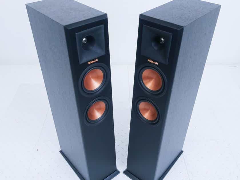 Klipsch RP-250F Floorstanding Speakers Ebony Pair; Reference Premiere (16260)