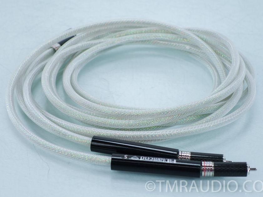 HiDiamond D5 RCA Cables; 3m Pair Interconnects (8012)