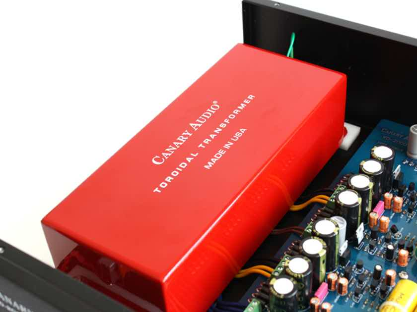 Canary Audio KD-2000 Tube DSD DAC. WOW