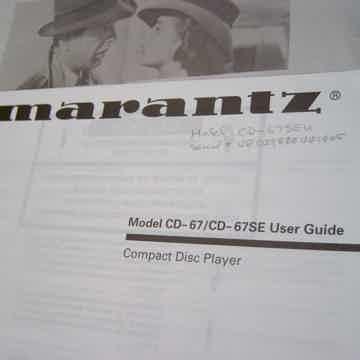 Marantz CD-67 se