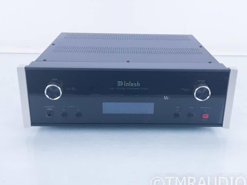 McIntosh C47 Stereo Preamplifier / DAC D/A Converter; MM/MC Phono (16514)