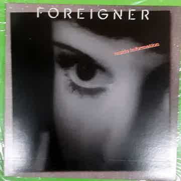 Foreigner - Inside Information 1987 NM Vinyl LP Atlanti...