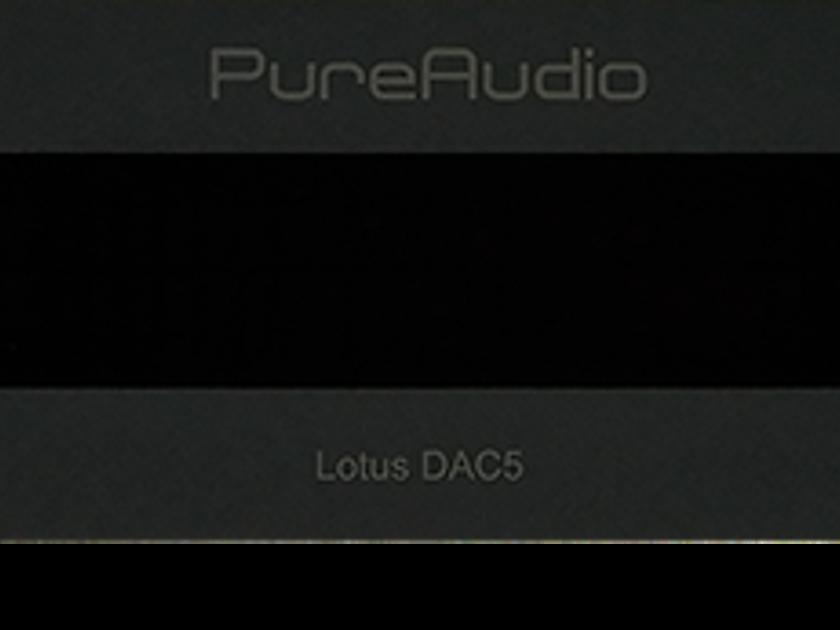 Pure Audio Lotus DAC5 Superb new MQA DAC-Our under $4k favorite