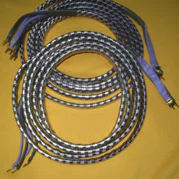 Plus Solo Crystal Oval 8 Biwire Speaker Cables