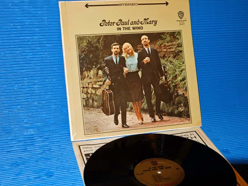 "PETER, PAUL & MARY  -  ""In The Wind"" -   Warner Bros1963 Original 'Gold Label' 1st Pressing"