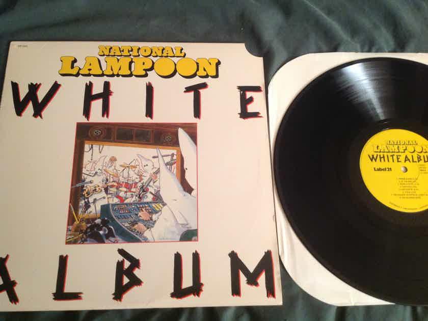 National Lampoon White Album Label 21 Records Promo Sticker