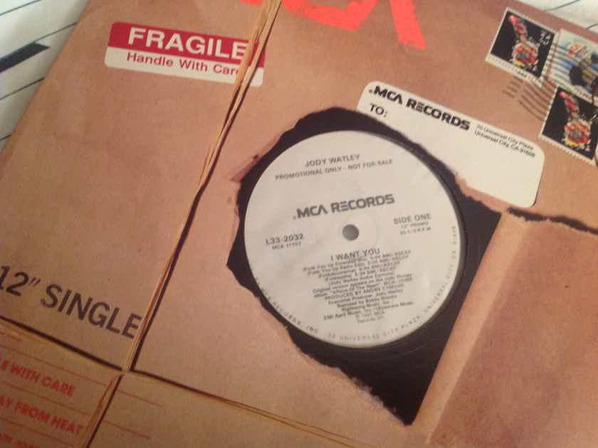 Jody Watley I Want You MCA Records Promo 12 Inch EP