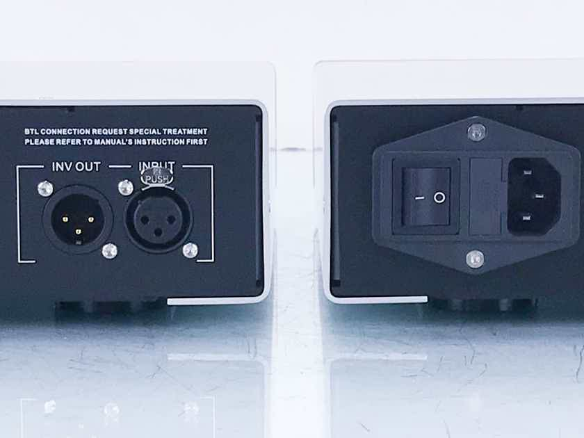 Auralic Merak Mono Power Amplifier Silver Pair; Warranty (14392)