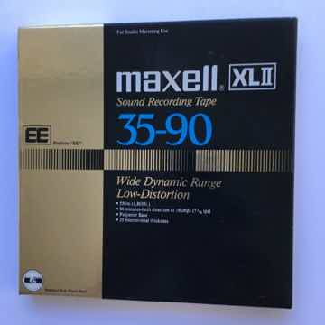 Maxell XLII 35/90 Reel to reel tape used