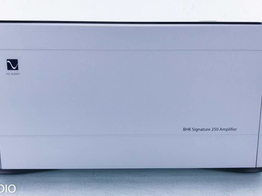 PS Audio BHK Signature 250 Stereo Power Amplifier Silver (Make an offer!) (15333)