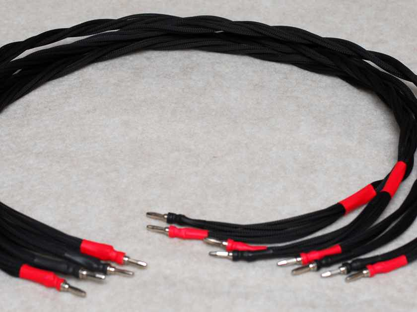 SOLID SILVER SPEAKER CABLES