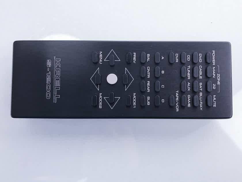 Krell S-1200U 3D Preamplifier / Processor (1486)