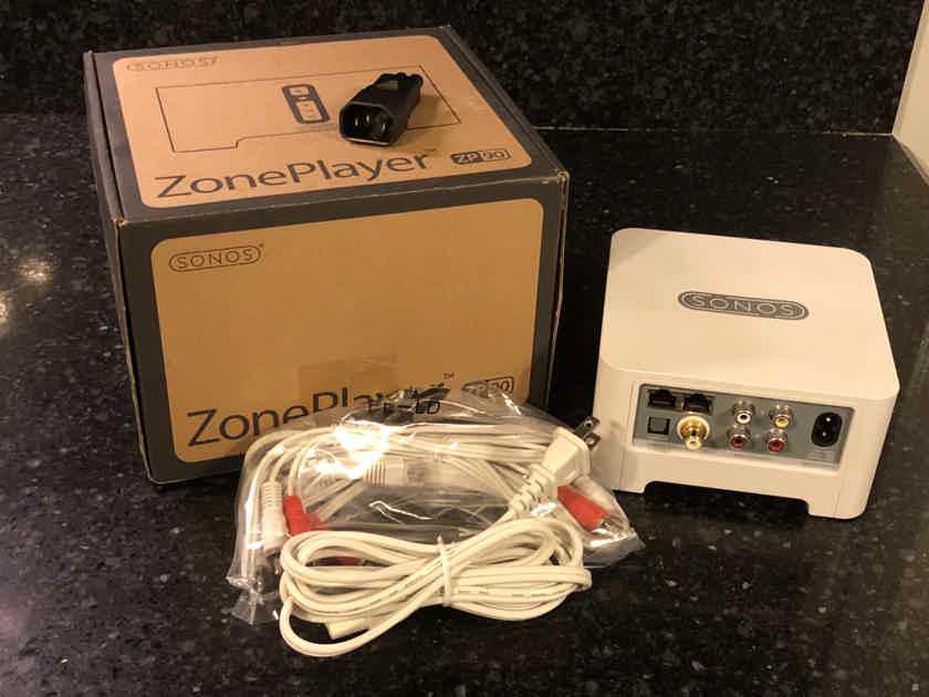 Sonos Connect / ZP-90 Wyred4Sound-modified 96KHz w/Sonos Bridge & IEC Power Adapter