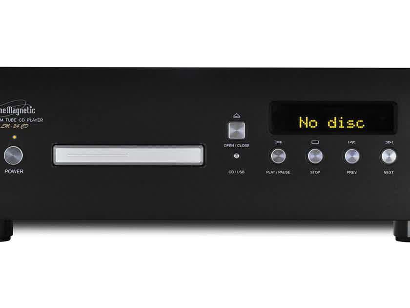 Line Magnetic LM-24CD Tube CD Player USB DAC Black