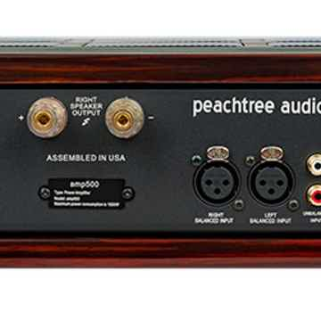 Peachtree Audio Amp 500