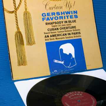 """GERSHWIN / Dorati / Hanson  - """"Gershwin Favorites"""" -  M..."""