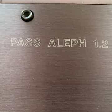 Pass Labs Aleph 1.2