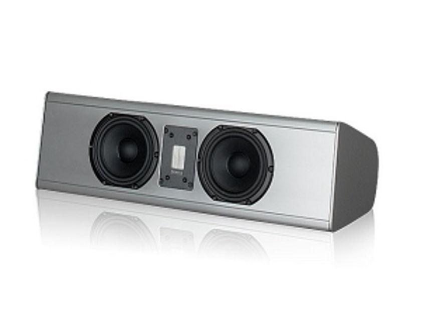 Piega Premium Center Large Speaker, Silver colour