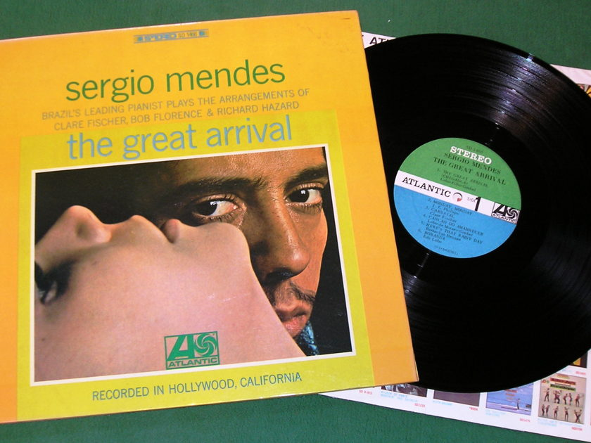 SERGIO MENDES - THE GREAT ARRIVAL  - ** 1966 ATLANTIC STEREO GATE ** Atlantic 6b Label - NM 9/10