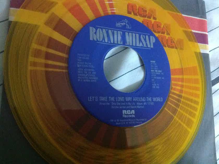 Ronnie Milsap Promo Mono/Stereo Yellow Vinyl 45 RCA Records