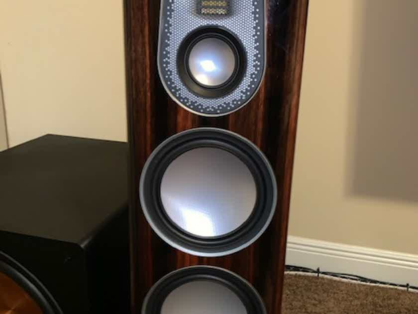 Monitor Audio Gold 5G 200 C250 and 100 Ebony WILL SHIP AND SPLIT UP